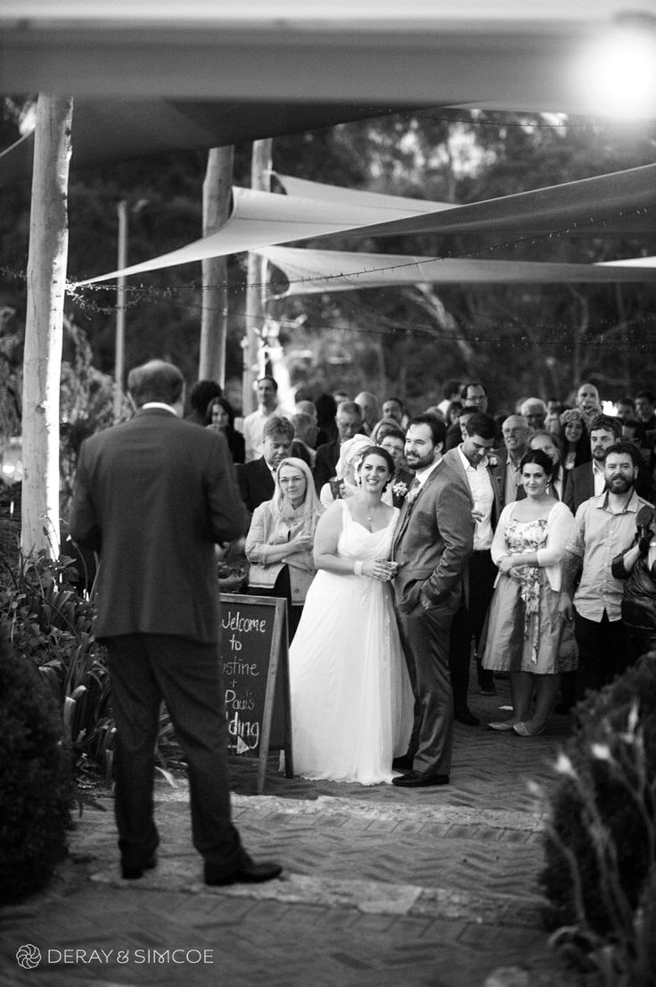 Relaxed, intimate cocktail style wedding reception at Carilley Estate, Swan Valley Western Australia Photography by DeRay & Simcoe