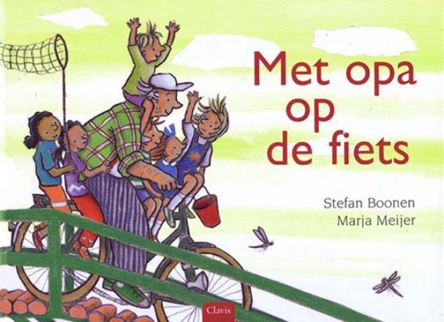 Boekenhoek: met opa op de fiets
