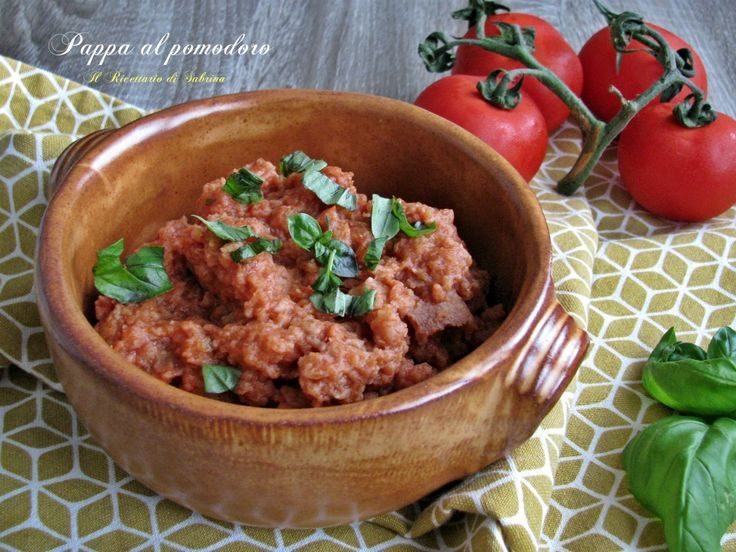 Pappa al pomodoro ricetta tradizionale toscana