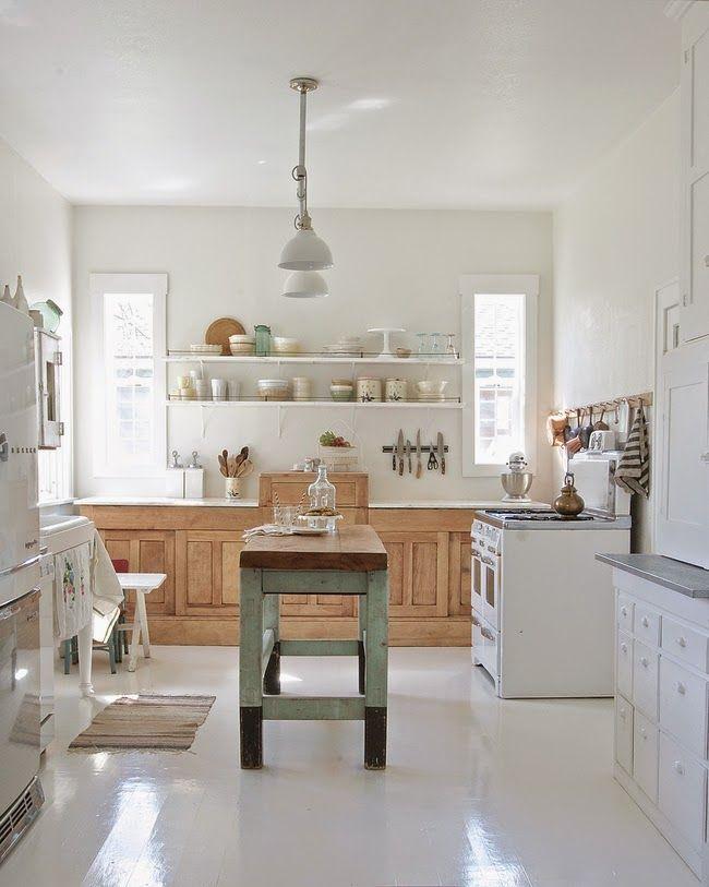 "Vintage Whites Blog: Kitchen Makeover Reveal: ""Epic"" to ""Minimalist"""