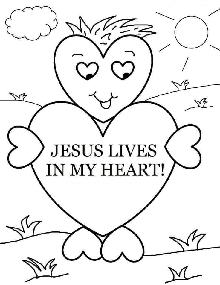 - Sunday School Coloring Pages Printable Sunday School Coloring Pages, Sunday  School Valentines, Valentines School