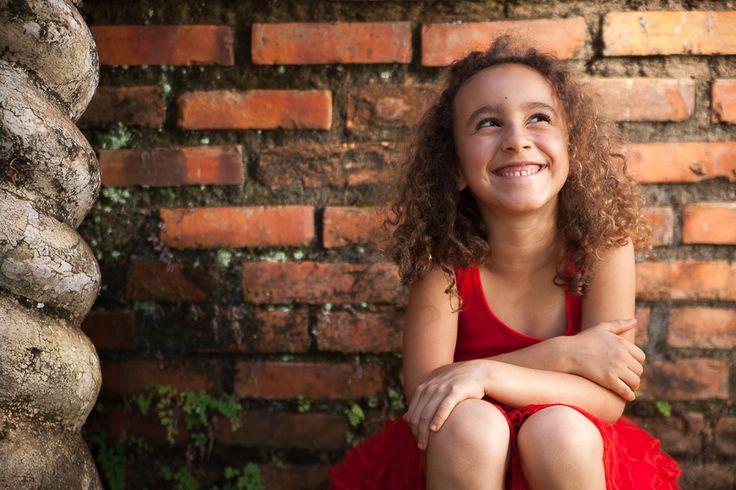 Ensaio fotográfico de crianças