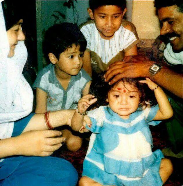 Anushka Sharma's childhood picture