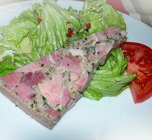 Burgundy specialty appetizer, Parsleyed Ham recipe