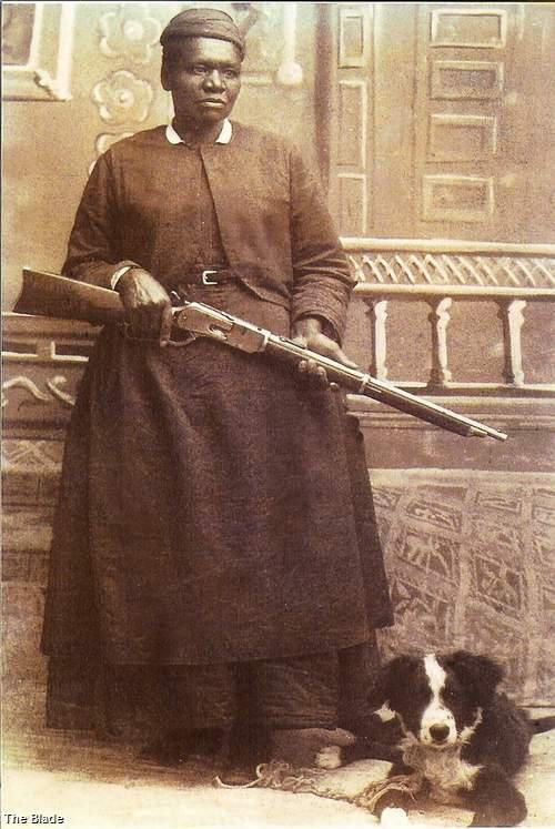 Mary Fields was the first African American woman and the second American woman to be employed as a mail carrier with the United States Postal Service. Mary was hired by the U.S. Postal Service because she was able to hitch a team of six horses to a Stagecoach faster than anyone other applicant.
