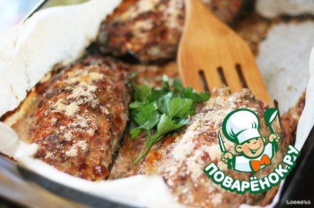 Баклажаны с мясом, помидорами и сыром сулугуни ингредиенты
