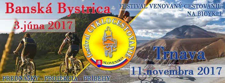 Festival Cyklocestovanie, ktorý sa uskutoční 3.júna bude zameraný hlavne na cestovanie na bicykli po Slovensku.