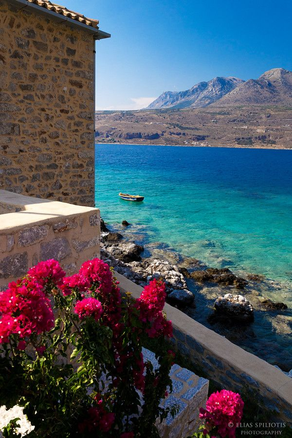 Limeni Village, Lakonia, Greece