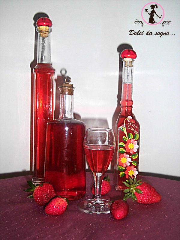 liquori alla fragola