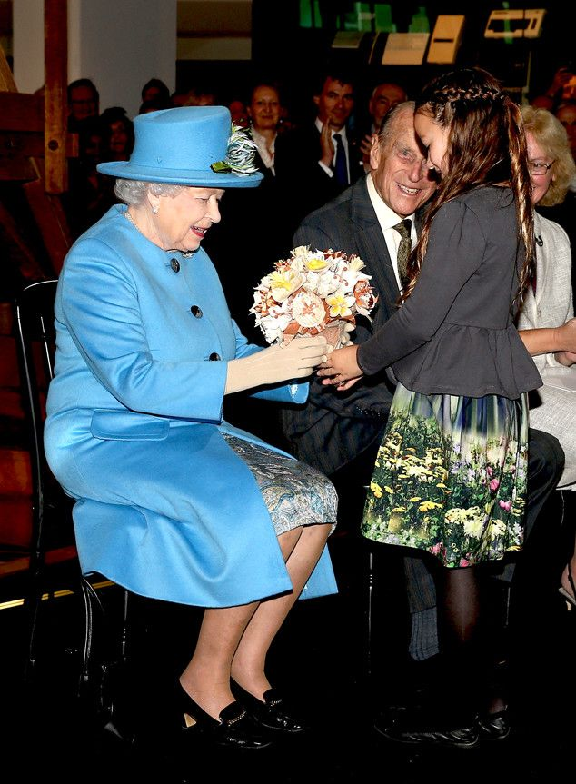 Getting Technical from Queen Elizabeth II's Life in Pictures   The queen embraces technology as she sends her first tweet while at the Information Age Exhibition at the London Science Museum in 2014. MORE PHOTOS: Royal family shockers