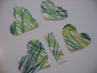 Make a clover.  Might be a good decoration for our St. P's tree