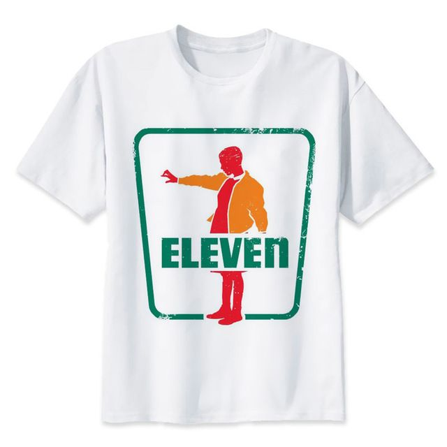 New TV Show Stranger Things Men T Shirt Eleven Printed man fashion t shirt white tee shirts male Hipster geek funny tops tees-in T-Shirts from Men's Clothing & Accessories on Aliexpress.com | Alibaba Group