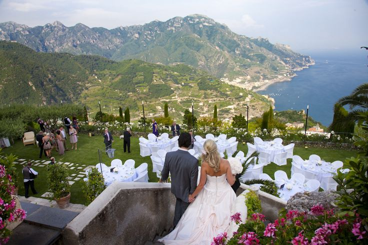 Wedding Reception At The HotelCaruso Wagner Gardens Ravello