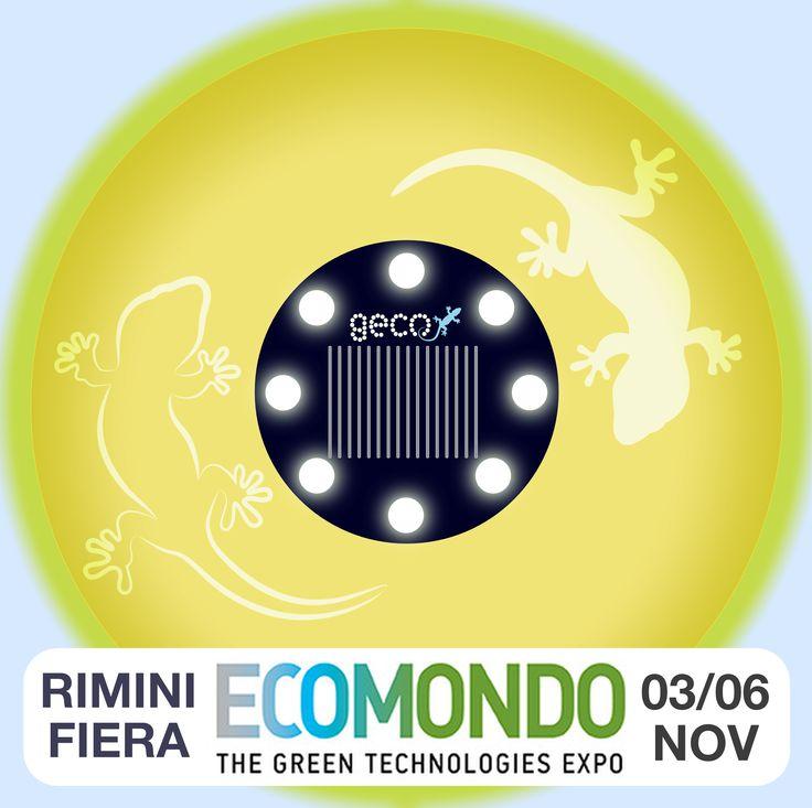 -55 GIORNI ALL'EVENTO: Da martedì 3 a venerdì 6 novembre 2015 saremo a Rimini Fiera ad ECOMONDO 2015 http://www.ecomondo.com