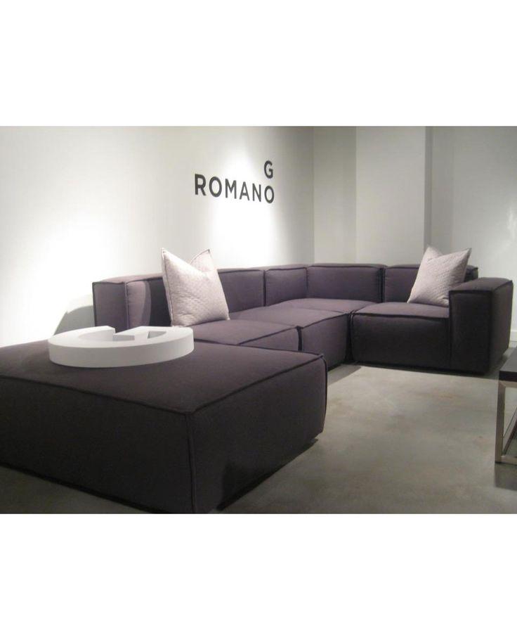 Leather Sofa DOMINO Maison Mikaza home Modern Furniture Ottawa Montreal u Gatineau