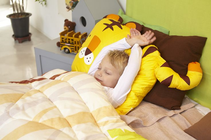 Milo & Gabby Tiger Pillowcase for Kids - Tom