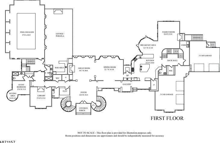 10 Frick Dr Alpine Nj 07620 Mls 3533600 Coldwell Banker Floor Plans Walk In Pantry Zillow