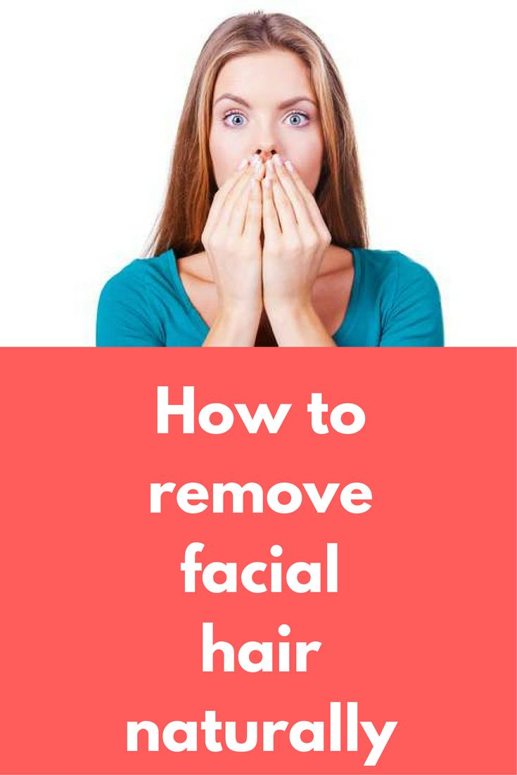How to remove small facial hair-4969