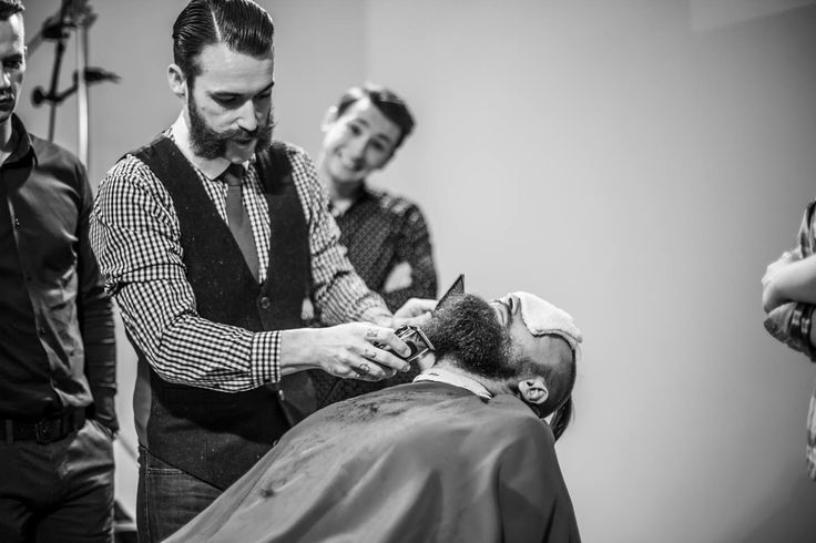 Facial Hair Expert | 2 days course | LJK Barber College Warsaw | + info: www.lordjackknife.com
