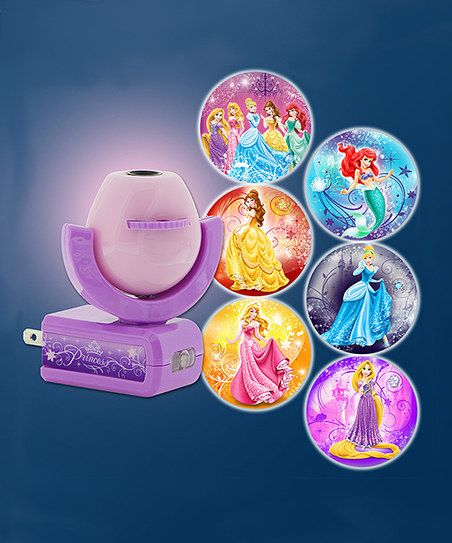 Purple Disney Princess Six-Image Projectables® LED Night-Light   zulily