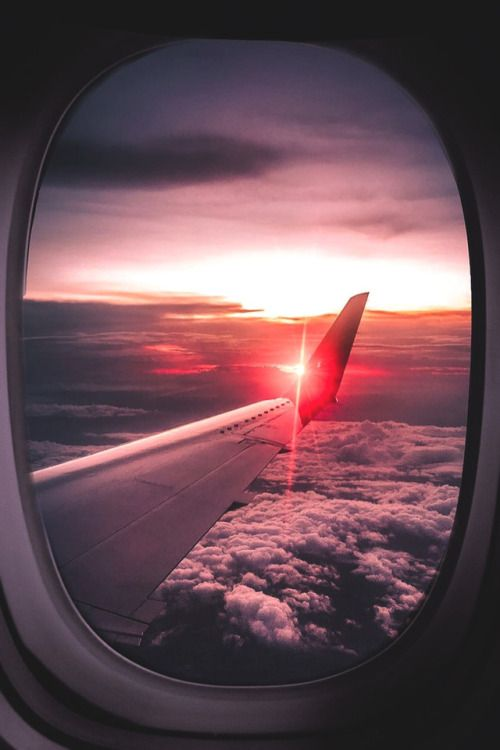 The essential components of an airplane are a wing system to. lsleofskye: Catching sunsets on the go! | _captivitas_
