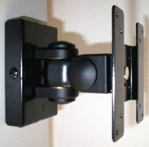 LCD Monitor VESA Wall mount bracket with swivel tilt & rotate motion
