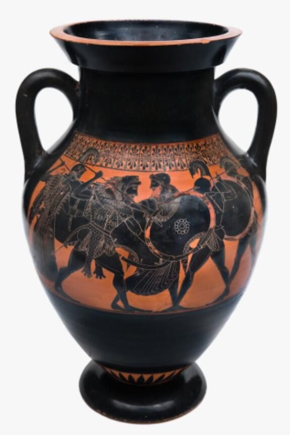 an evaluation of the vase painting three revelers by euthymides It is a ceramic vase that is in excellent condition with the exception of  euthymides' three revelers  who was considered to be the master of red-figure painting.