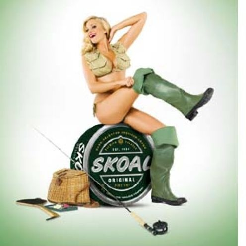 Yup. Come sit on my Skoal can ;)
