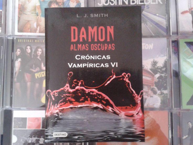 """""""Crónicas Vampiricas: Damon Almas Oscuras"""" escrito por L.J. Smith:"""