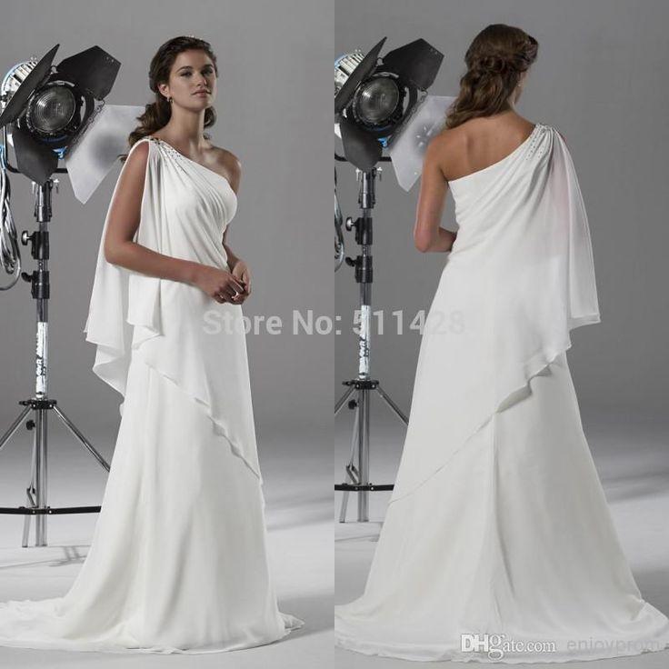 13 best greek wedding dress images on pinterest wedding for Greek inspired wedding dress