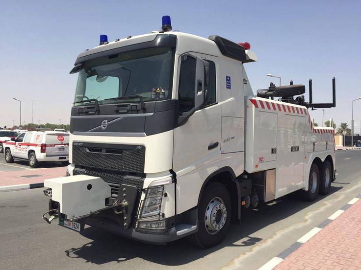VOLVO FH ,440 , 6X4 - с оборудованием EMPL -( Dubai - Police )