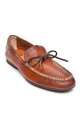 Frye Men's Lewis Leather Shoes - Brown - 10.5M
