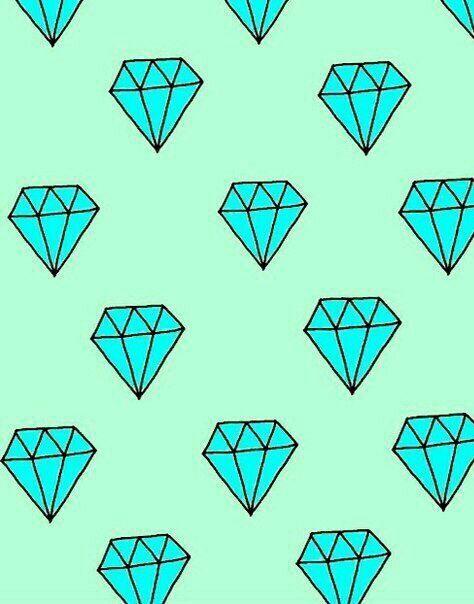 blue, diamond, wallpapers, diamond's
