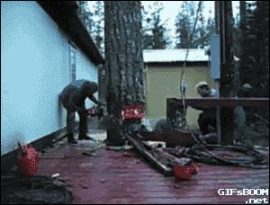 Share this Woodcutters more precise in the world Animated GIF with everyone…