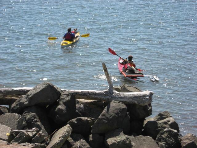 Kayaking is good.