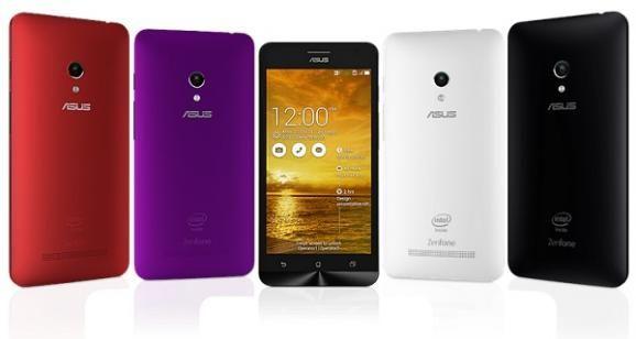 Asus ZenFone 5 smartphone - colour option
