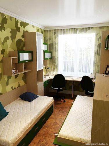 Очень маленькая комната для двух детей