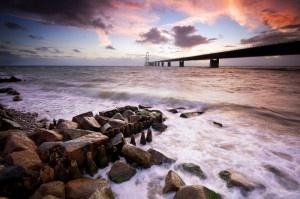 The Great Belt Bridge / Denmark