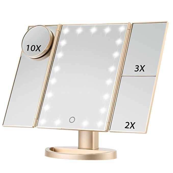 Led Lighted Makeup Mirror Magicfly 10x 3x 2x 1x Magnifying Mirror