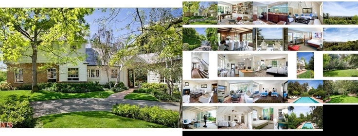 Harrison Ford's house in Brentwood, CA