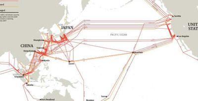 インターネットとかで使う海底ケーブルっていつどのくらいの期間で繋げたんだろうね