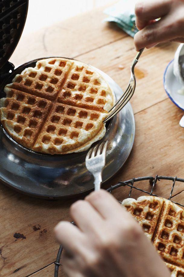 Homemade Waffles made by Mrs. Bentley in Fifty Shades Freed page 250