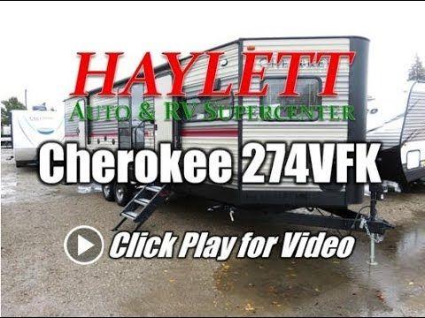 2018 Forest River Cherokee 274vfk Travel Trailer Coldwater Mi Haylett Auto And Rv Supercenter Coldwater Mi Rv Sales Forest River Rv For Sale Travel Trailer