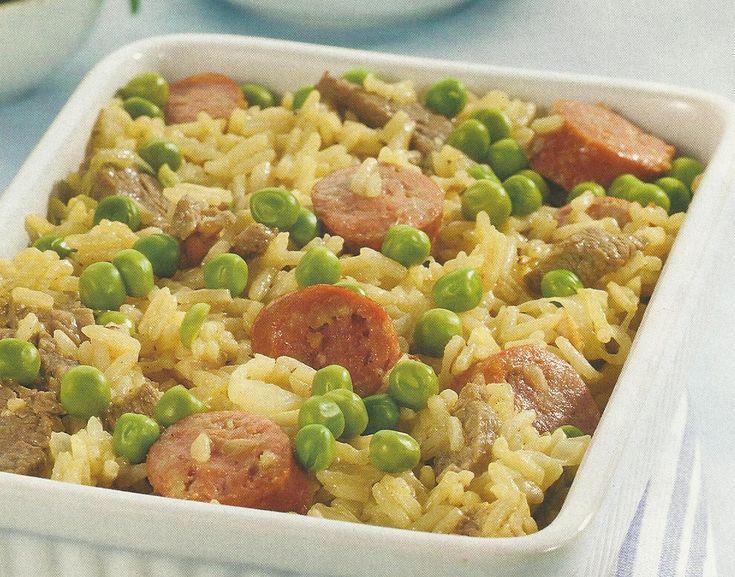Arroz de Carne com Ervilhas - https://www.receitassimples.pt/arroz-de-carne-com-ervilhas/