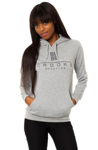 Crooks and Castles Women`s Greco Pullover Hoody for only $39.99 You save: $35.01 (47%)