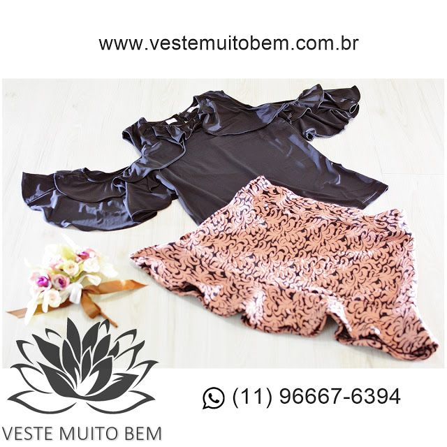 Bata com babado R$ 7000  Saia de Jacquard R$ 6500 #vestemuitobem #moda #modafeminina #modaparameninas #estilo #roupas #lookdodia #like4like #roupasfemininas #tendência #beleza #bonita #gata #linda #elegant #elegance