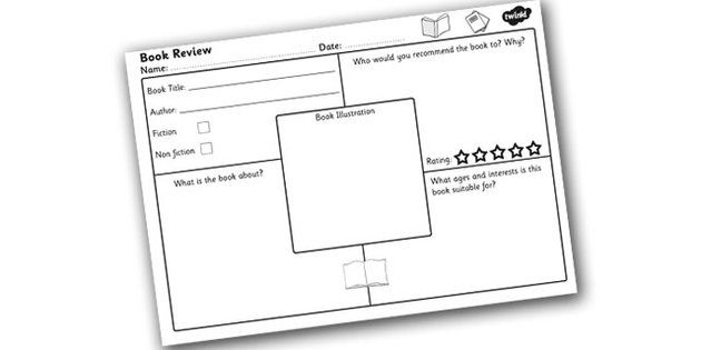 Book Review Template Ks2 | Best Template Collection