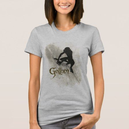 Gollum Concept Sketch T-Shirt - click/tap to personalize and buy