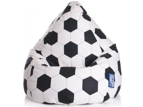 Magma Heimtex Sitzsack Fussball - ideal zur EM