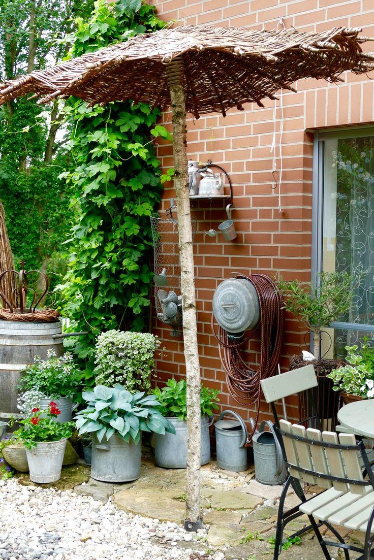 Die besten 25+ Sonnenschirm balkon Ideen auf Pinterest | Terrasse ...